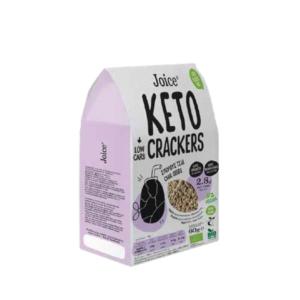 Joice - Βιολογικά Κeto Crackers με Σπόρους Chia