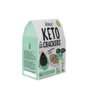 Joice - Βιολογικά Κeto Crackers με Λιναρόσπορο