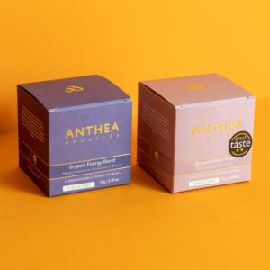 Anthea Organics – Μίγμα Energy & Τσάι Τριαντάφυλλο