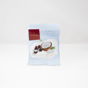 Domori - Κομμάτια Καρύδας με επικάλυψη Σοκολάτας Γάλακτος