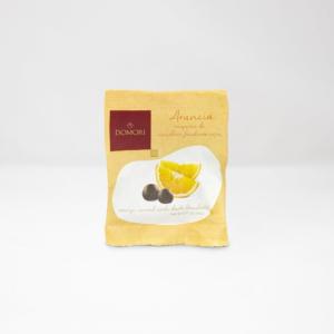 Domori - Κύβοι Πορτοκαλιού με επικάλυψη Μαύρης Σοκολάτας